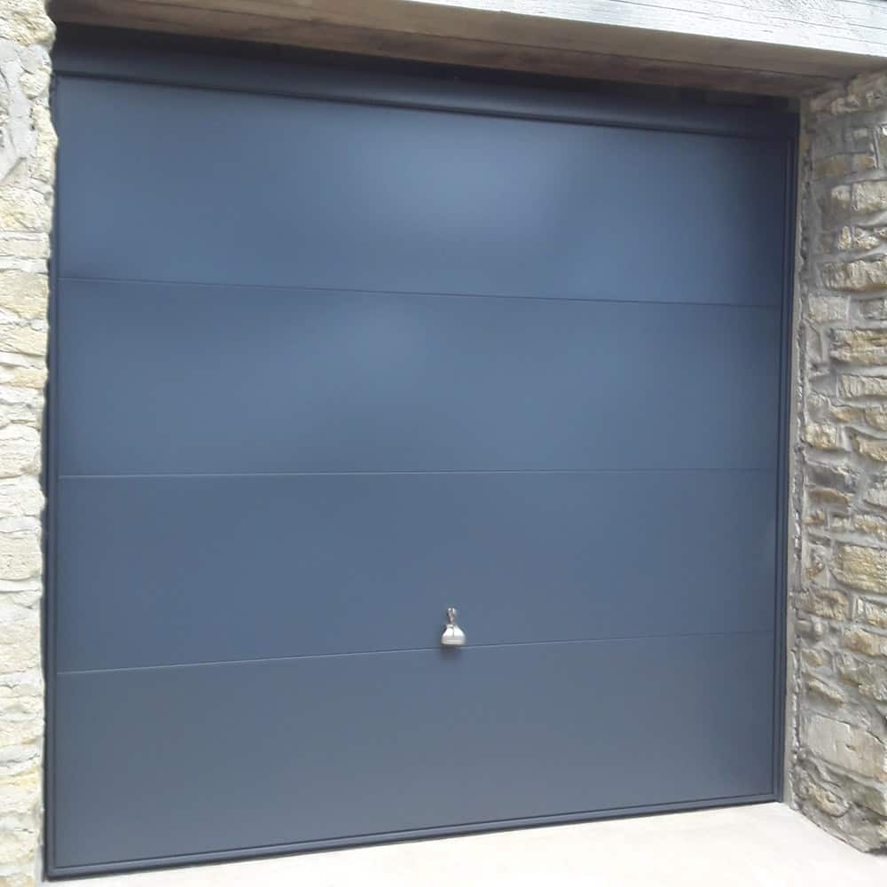Anthracite Grey up and over door
